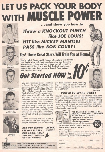 1960 sports magazine June