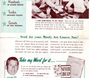 1954 NSC mail out flyer