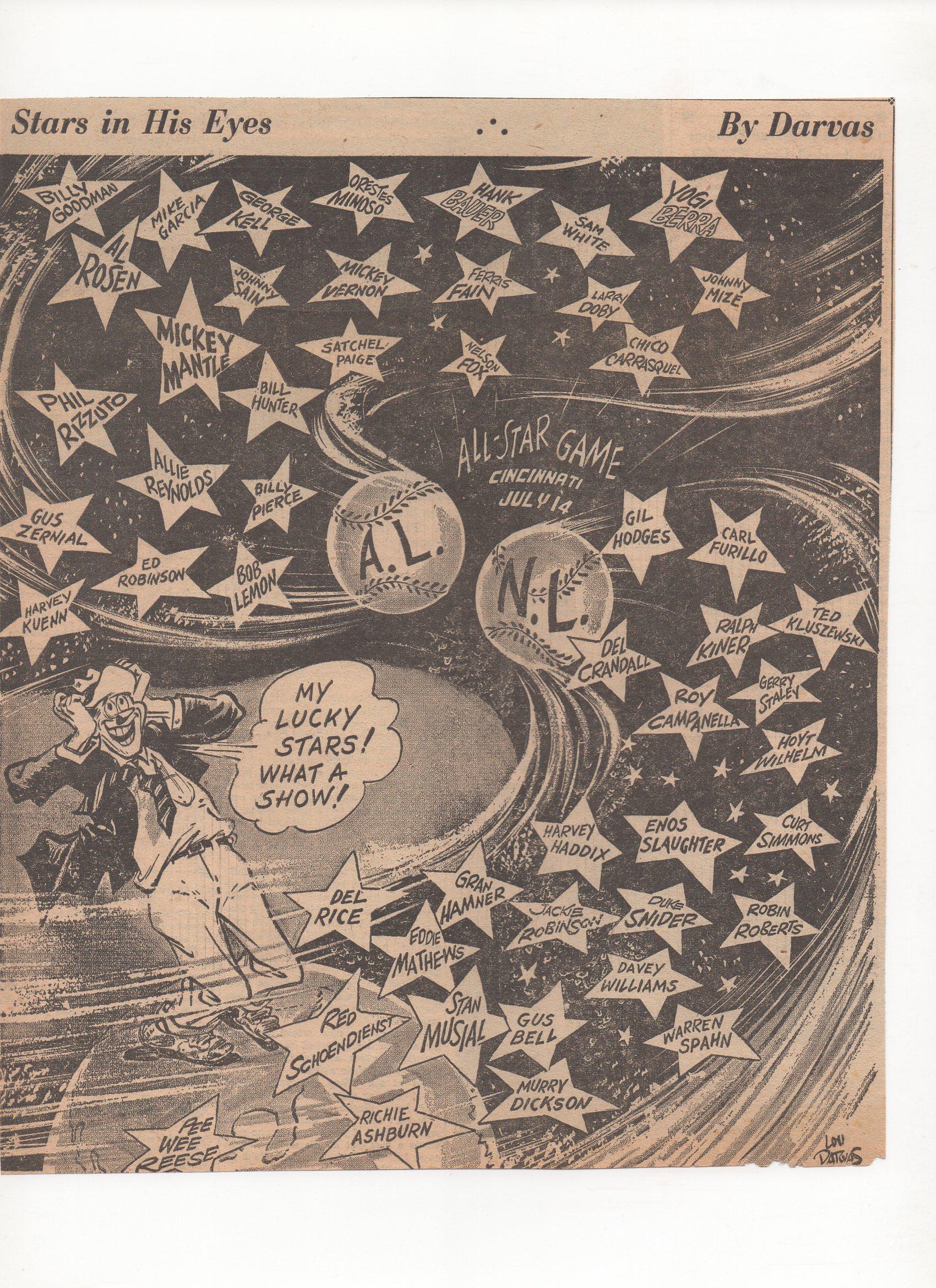1953 sporting news