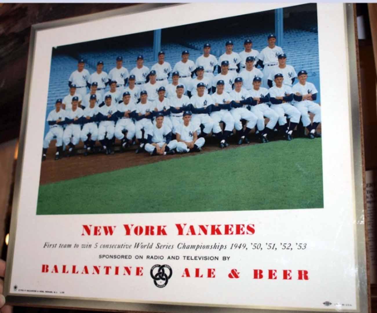 1954 ballantine beer