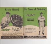 1955 rawlings baseball rules