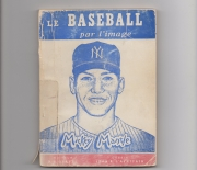1953 le baseball, how to play baseball all in french, dewey #796.357/G775b