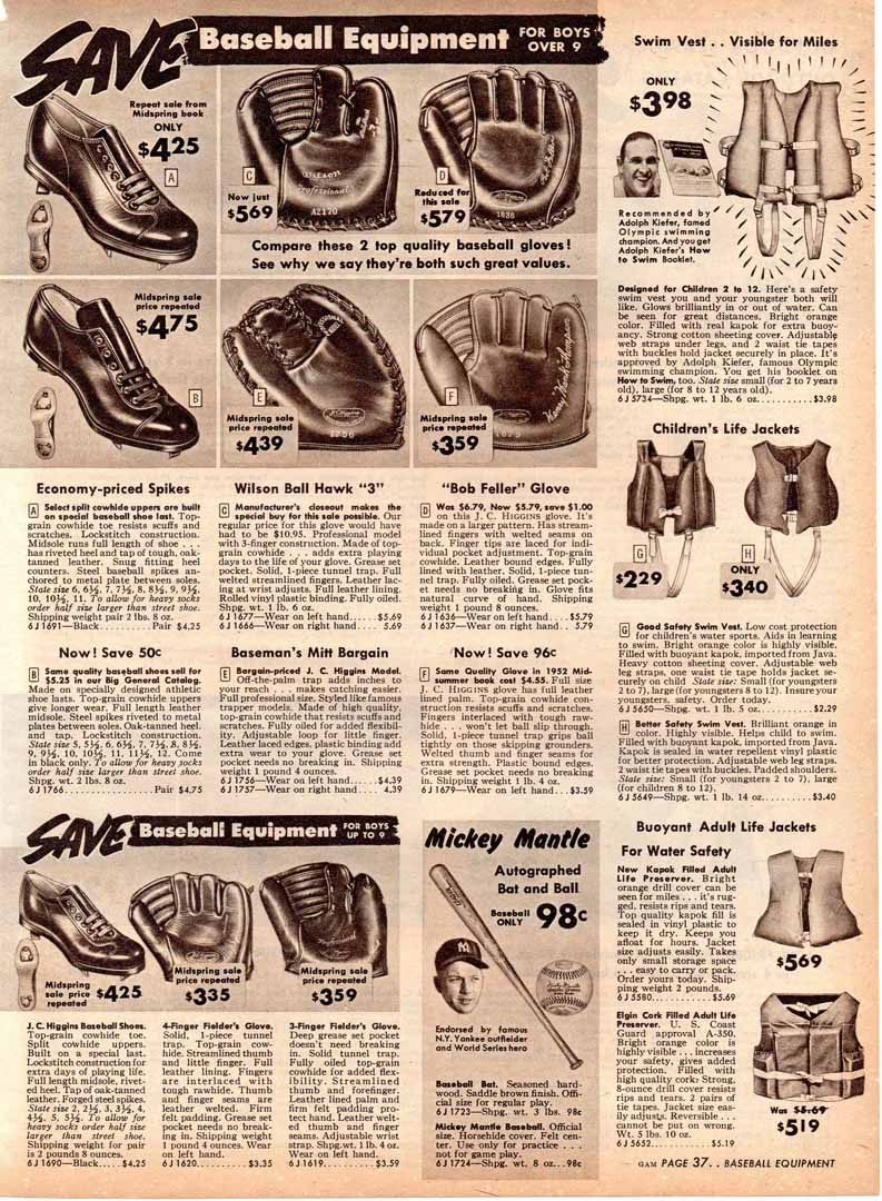1953 Sears mid summer catalog greensboro N.C.