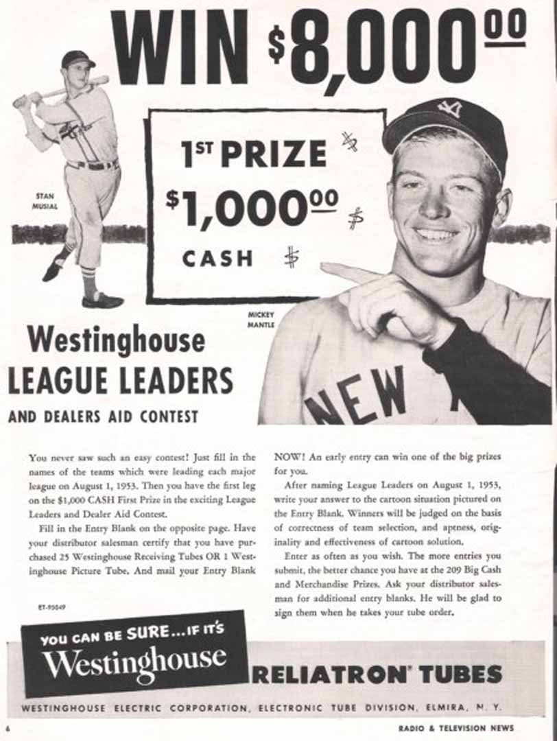 1954 radio television news 04/54