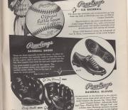 1954 little leaguer magazine, december