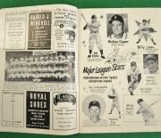 1953 miami stadium program