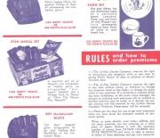 1953 era jo mar dairies pamphlet
