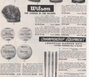1955 spors catalouge