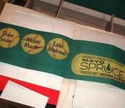 1955 mayo spruce store display