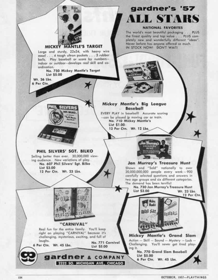1957 playthings October