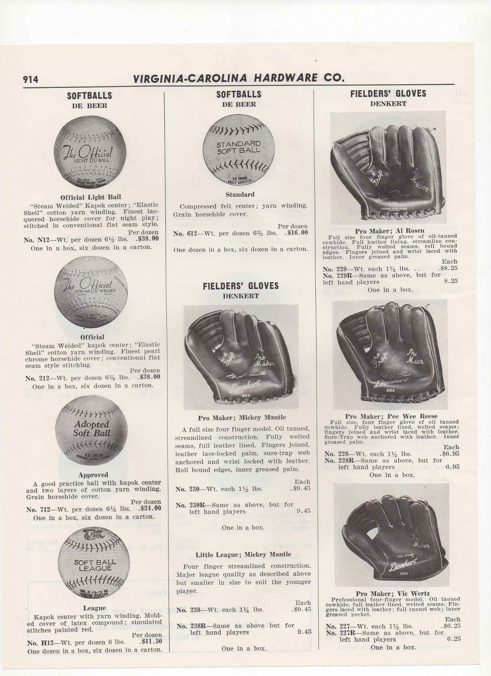 1956 virginia-carolina hardware company