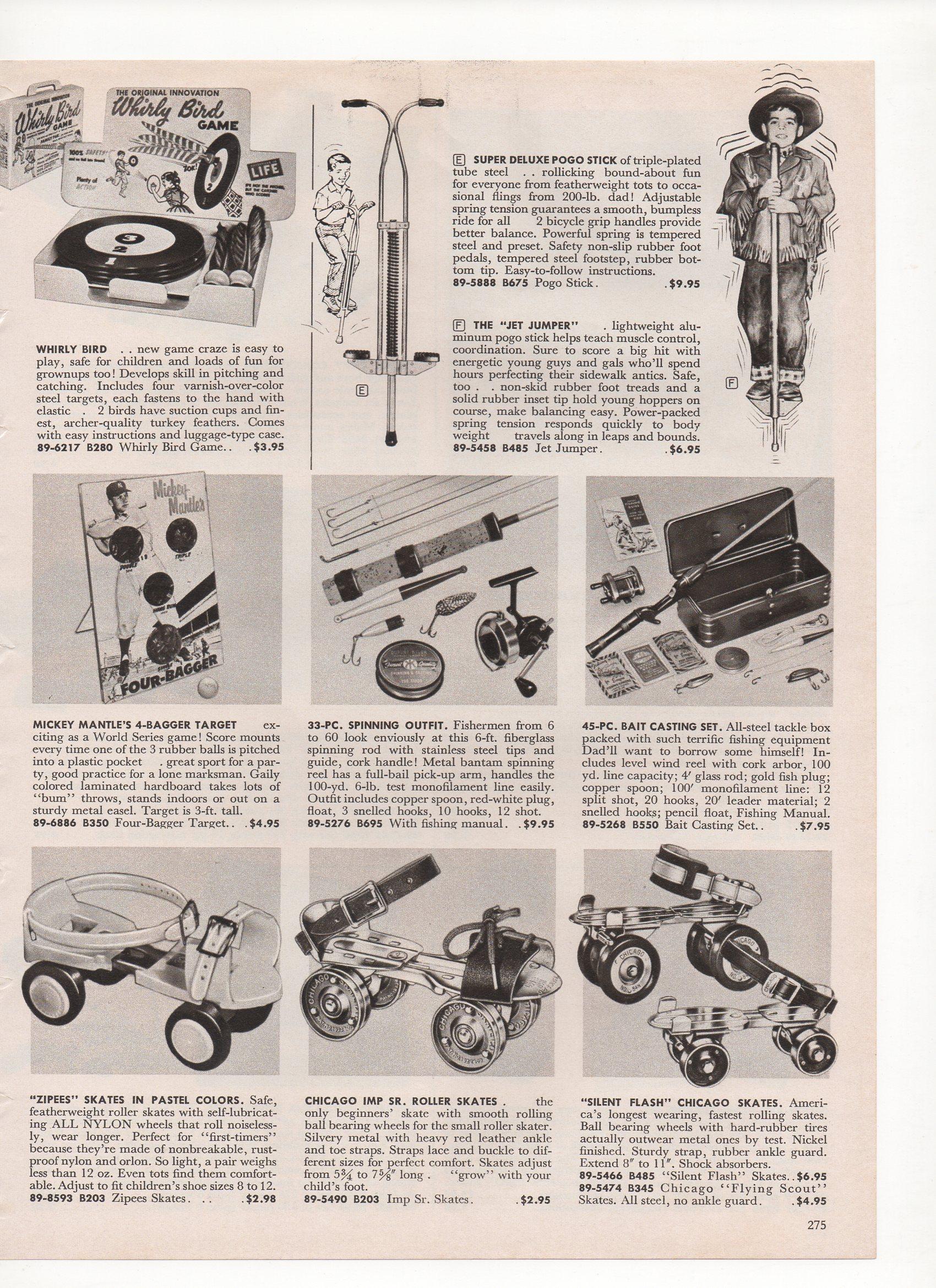 1958 john plains catalog