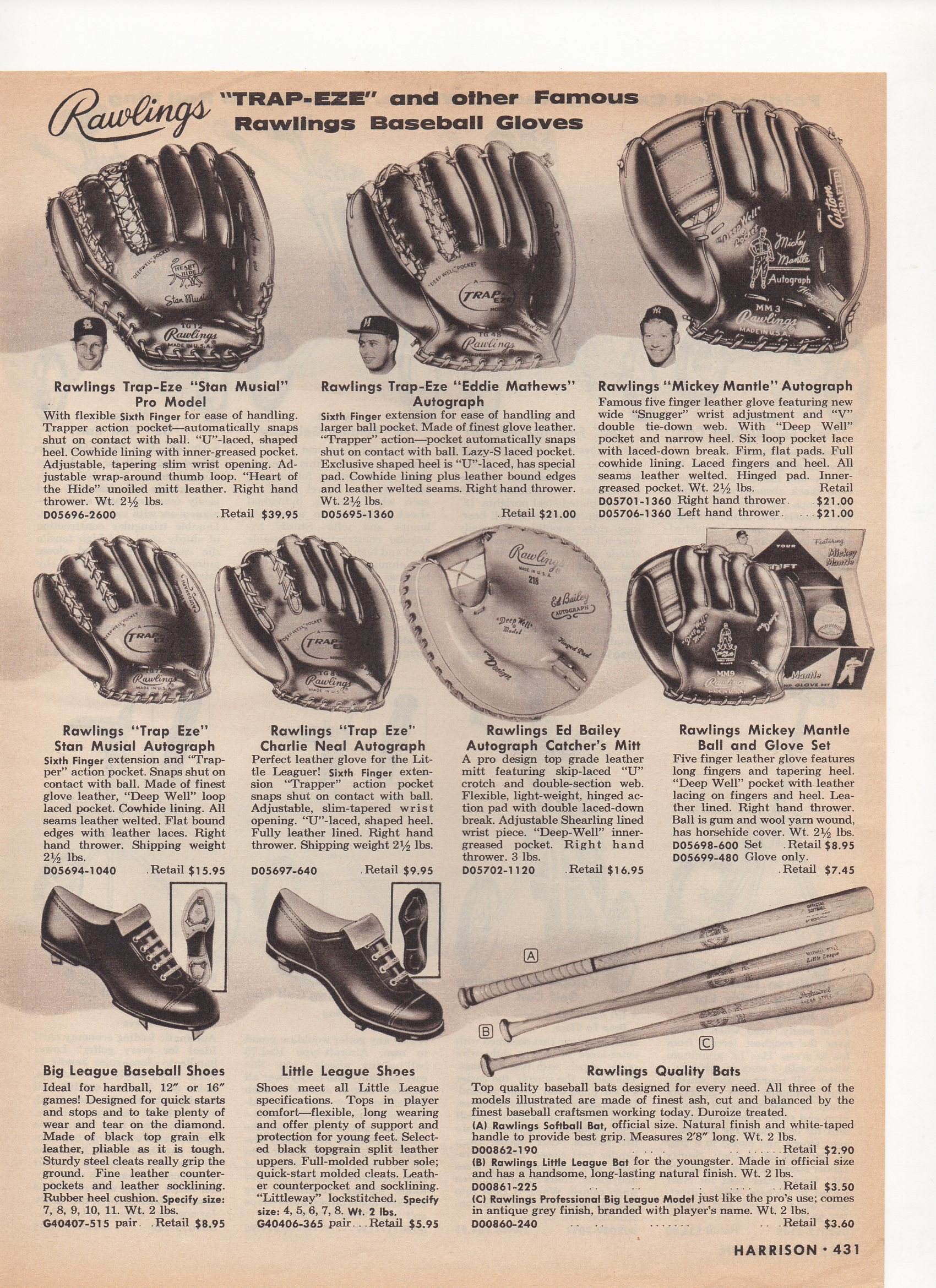 1960 harrison mail order catalog