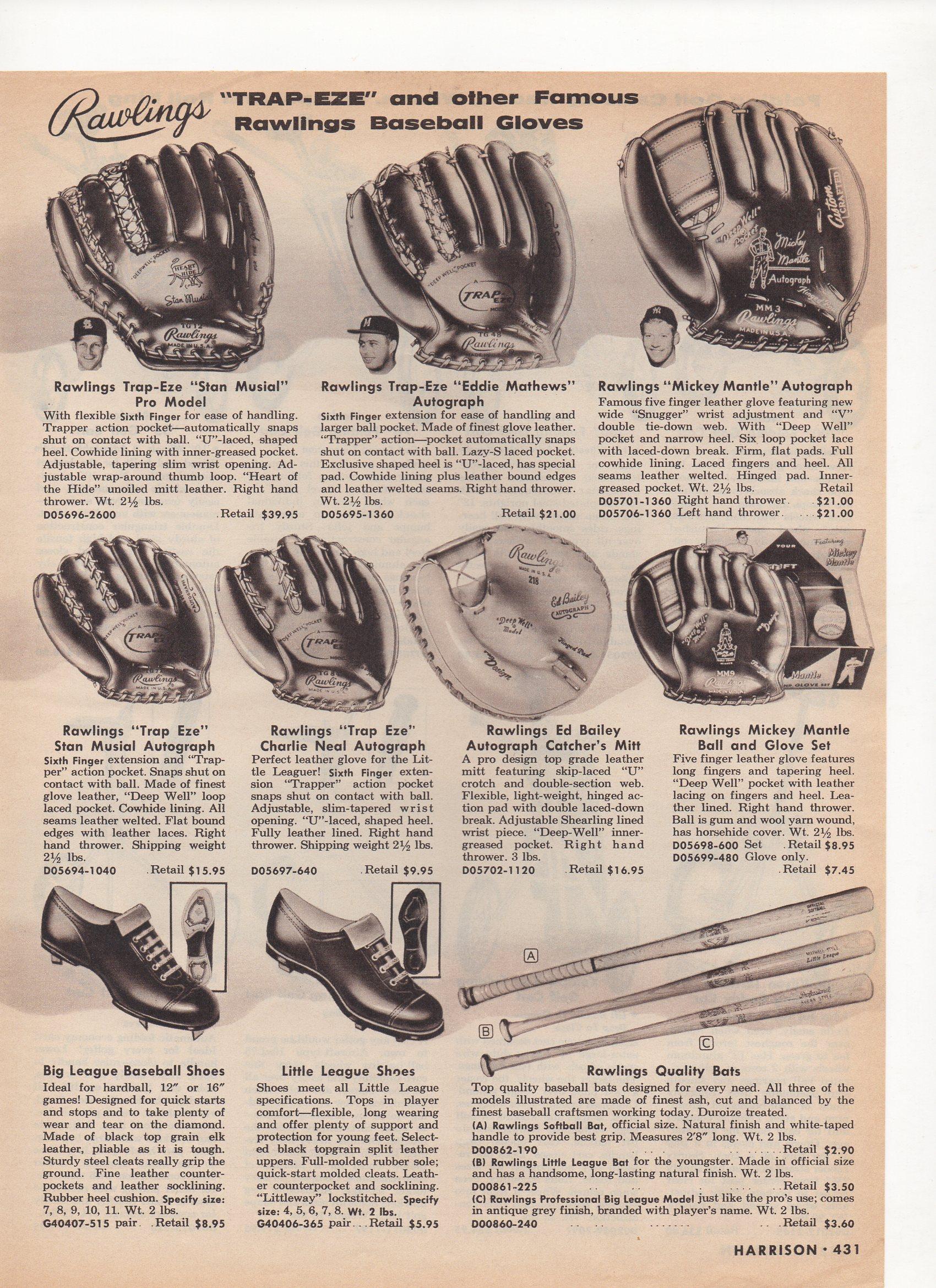 1960 harrison mail order catalog