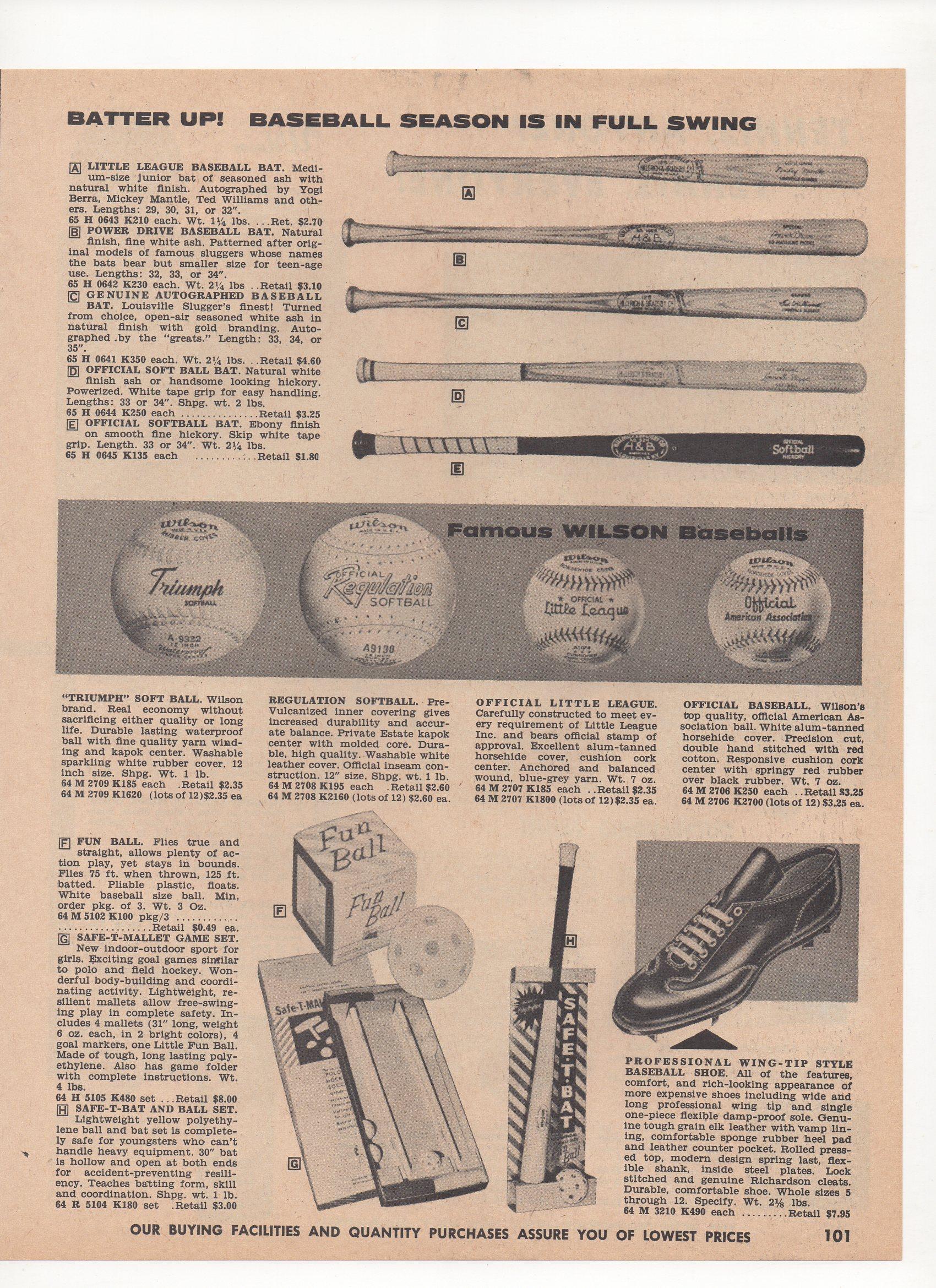 1960 mayers catalog