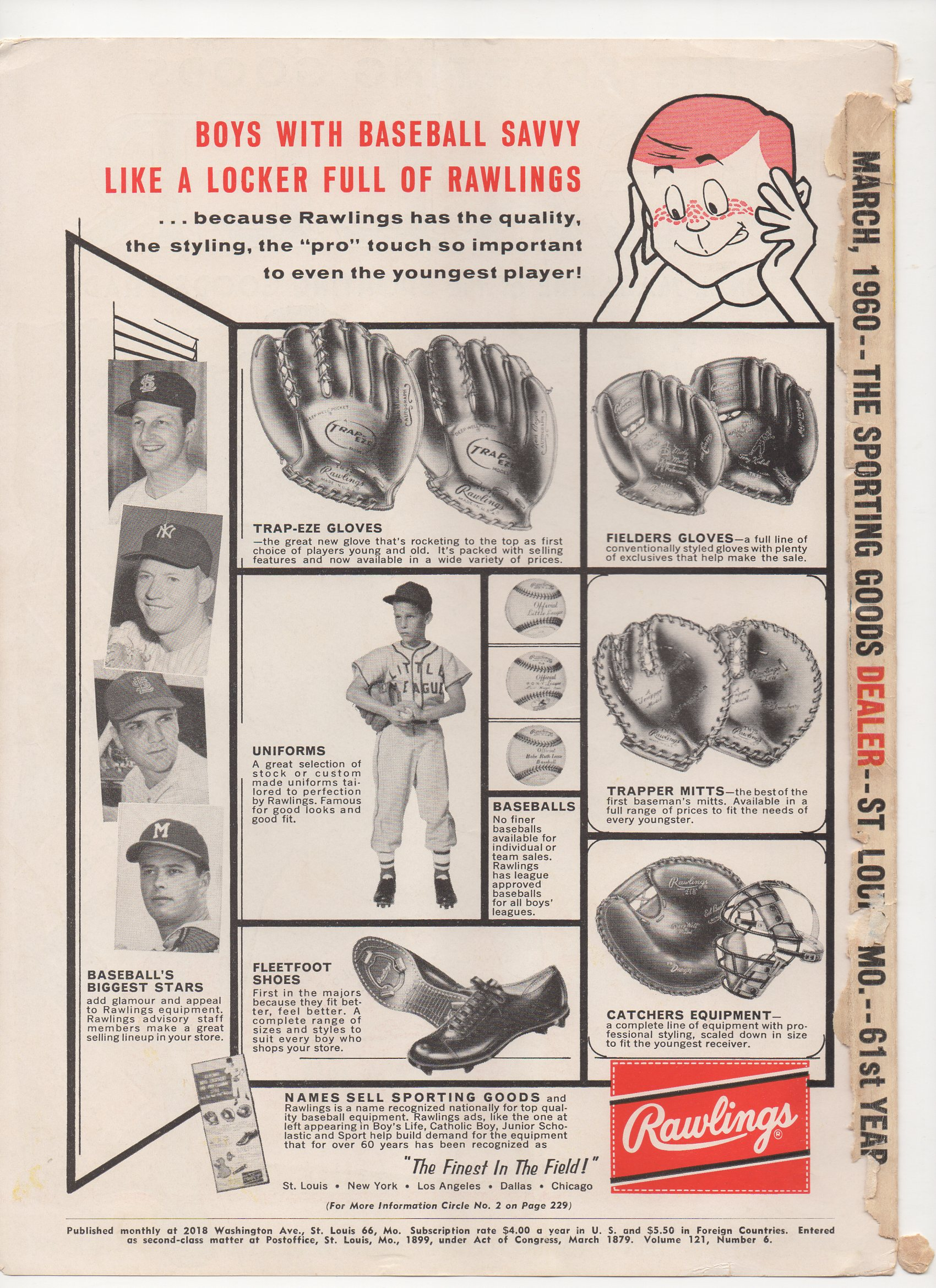 1960 the sporting goods dealer, newsletter 112, march