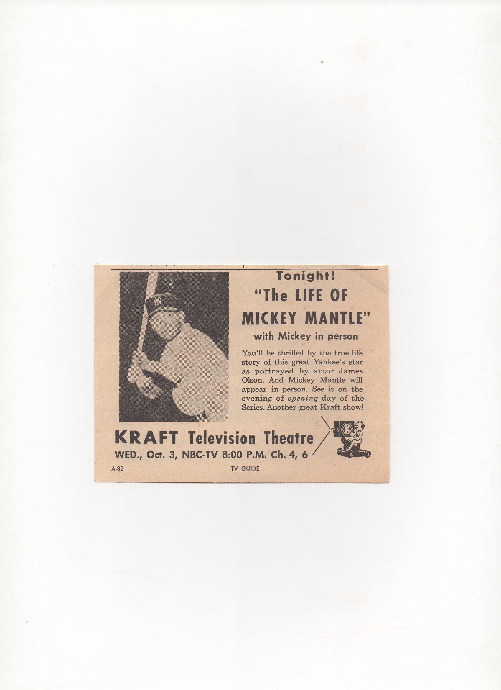 1956 tv guide, 10/03/1956