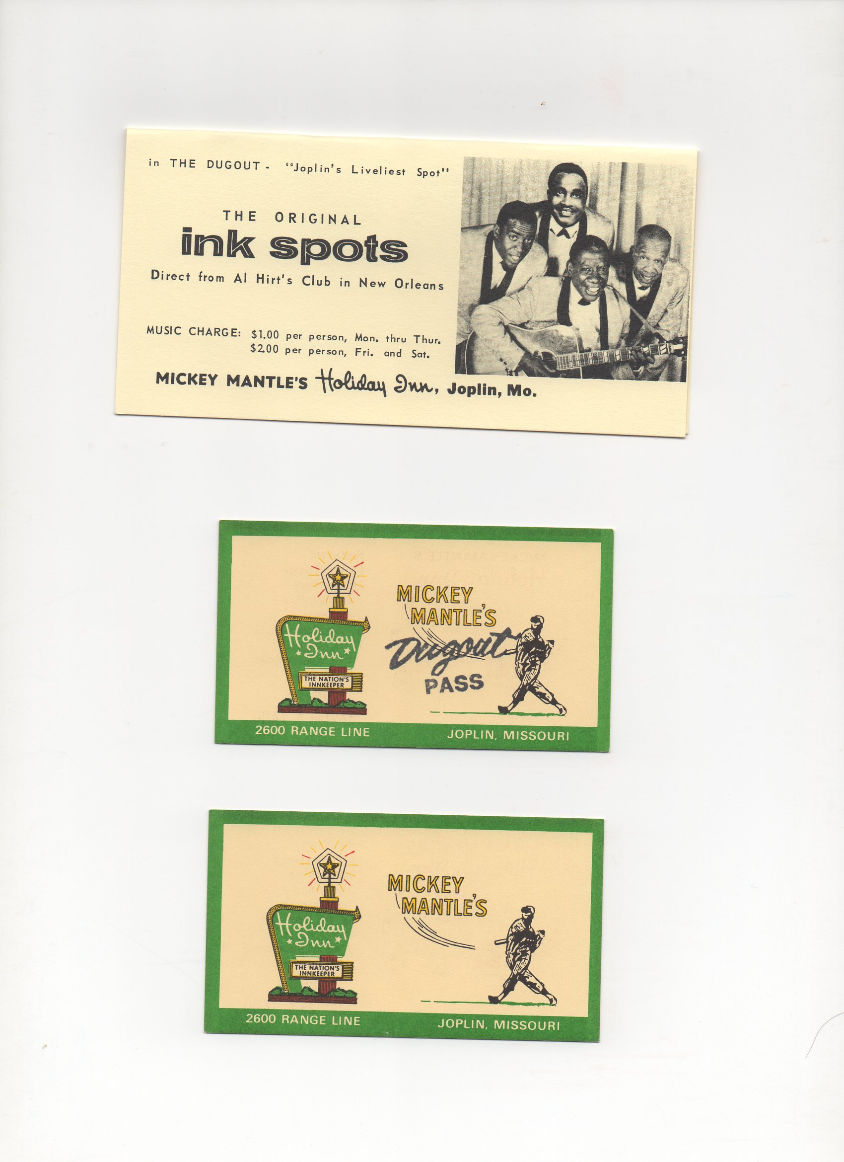 1956-1962 holiday inn
