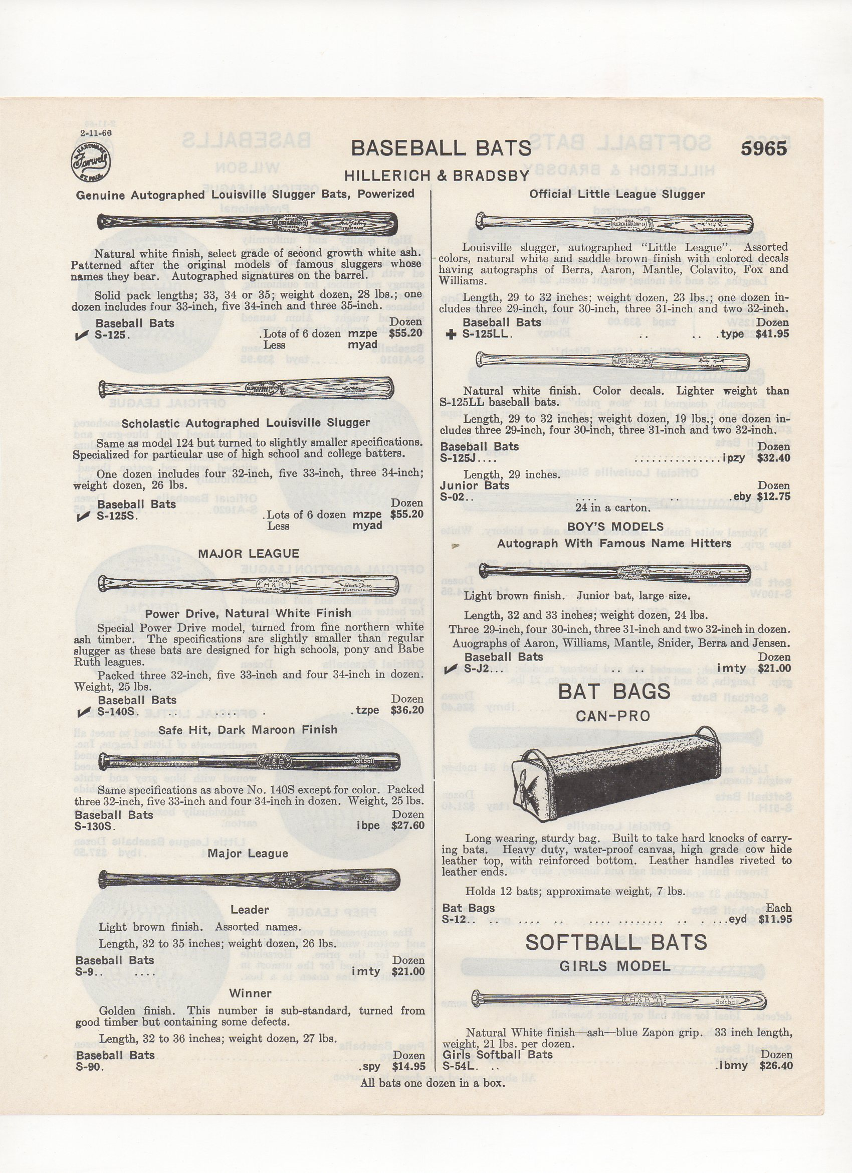 1960 farwell hardware, st. paul, minnesota, catalog