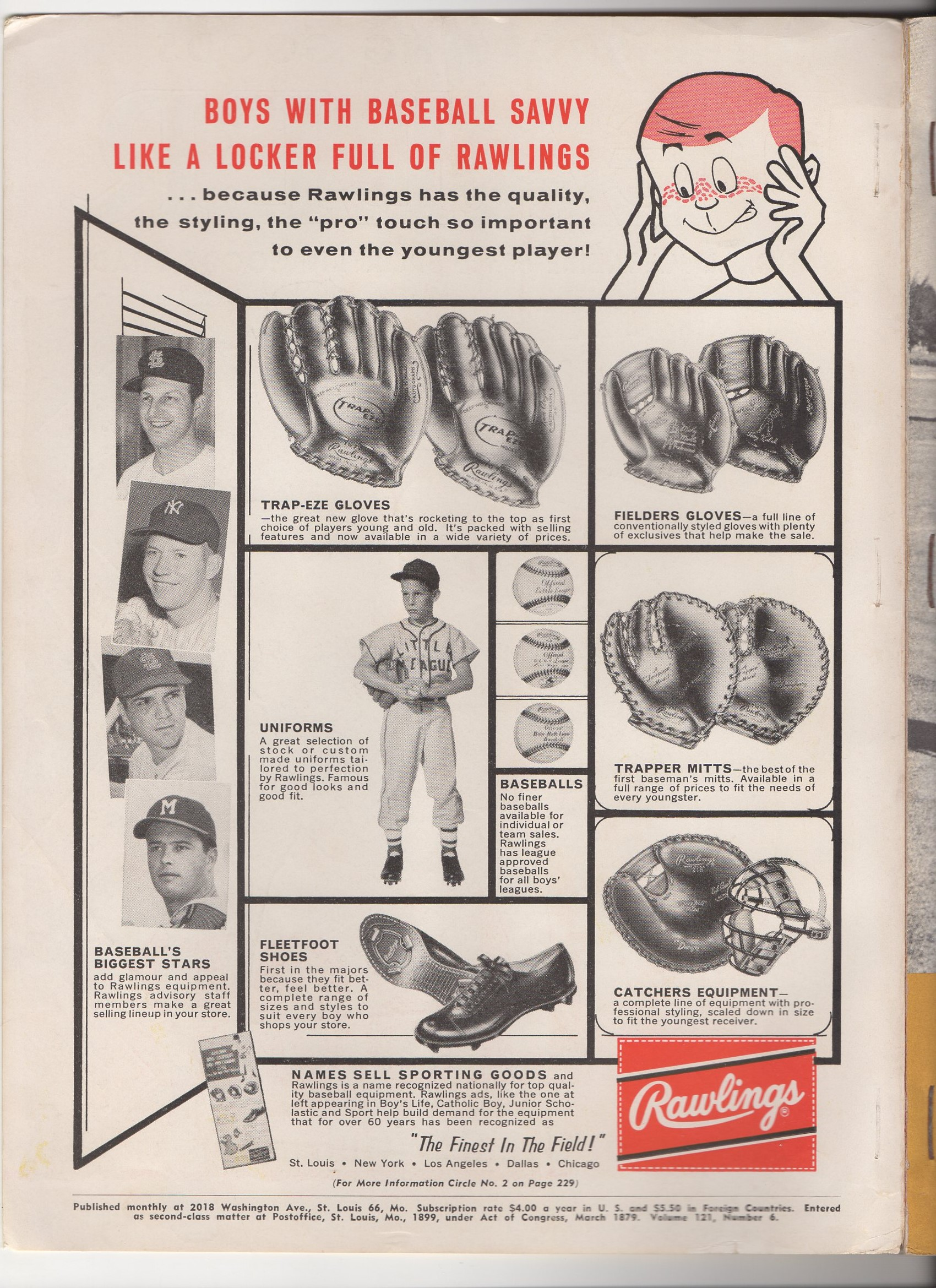 1960 the sporting gooods dealer, march