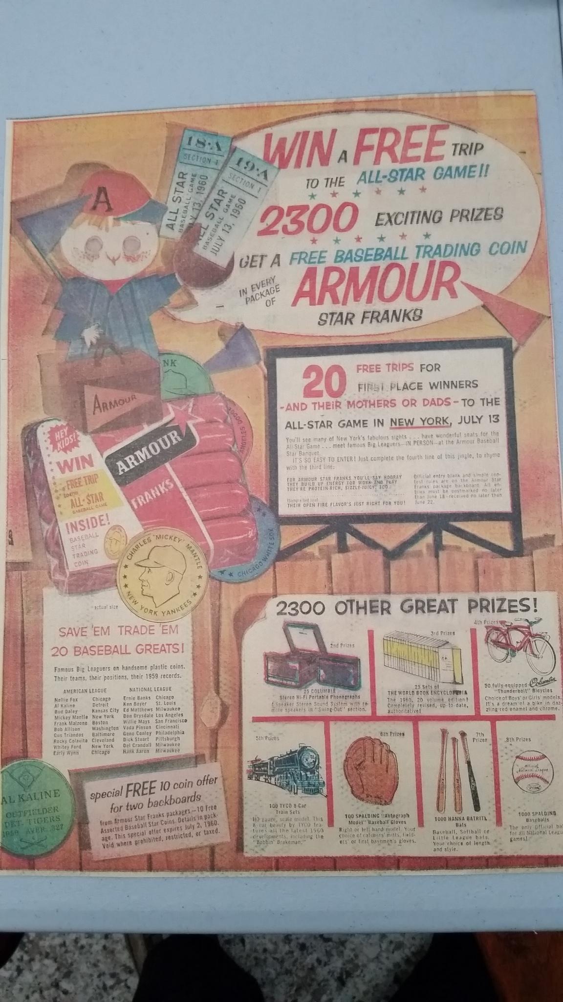 1960 armour,05/15/1960