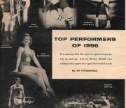 1957 sport magazine March