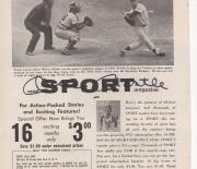 1957 sport magazine