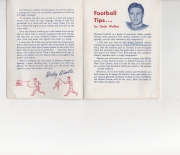1957 national sports council, small pamphlet