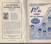 1956 the baseball blue book annual
