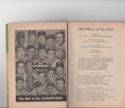1960 NCAA official baseball guide