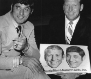 1960 era mantle men namath girls