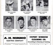 1959 detroit tigers scorebook