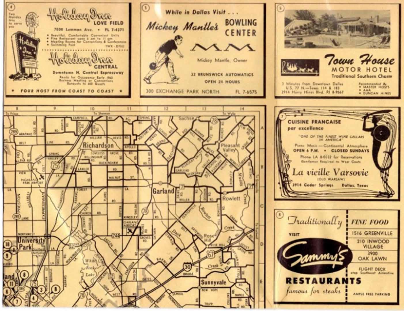 1960 era, hertz dallas tx Direction finder