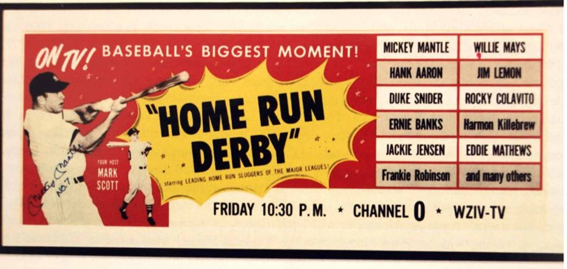 1959 home run derby