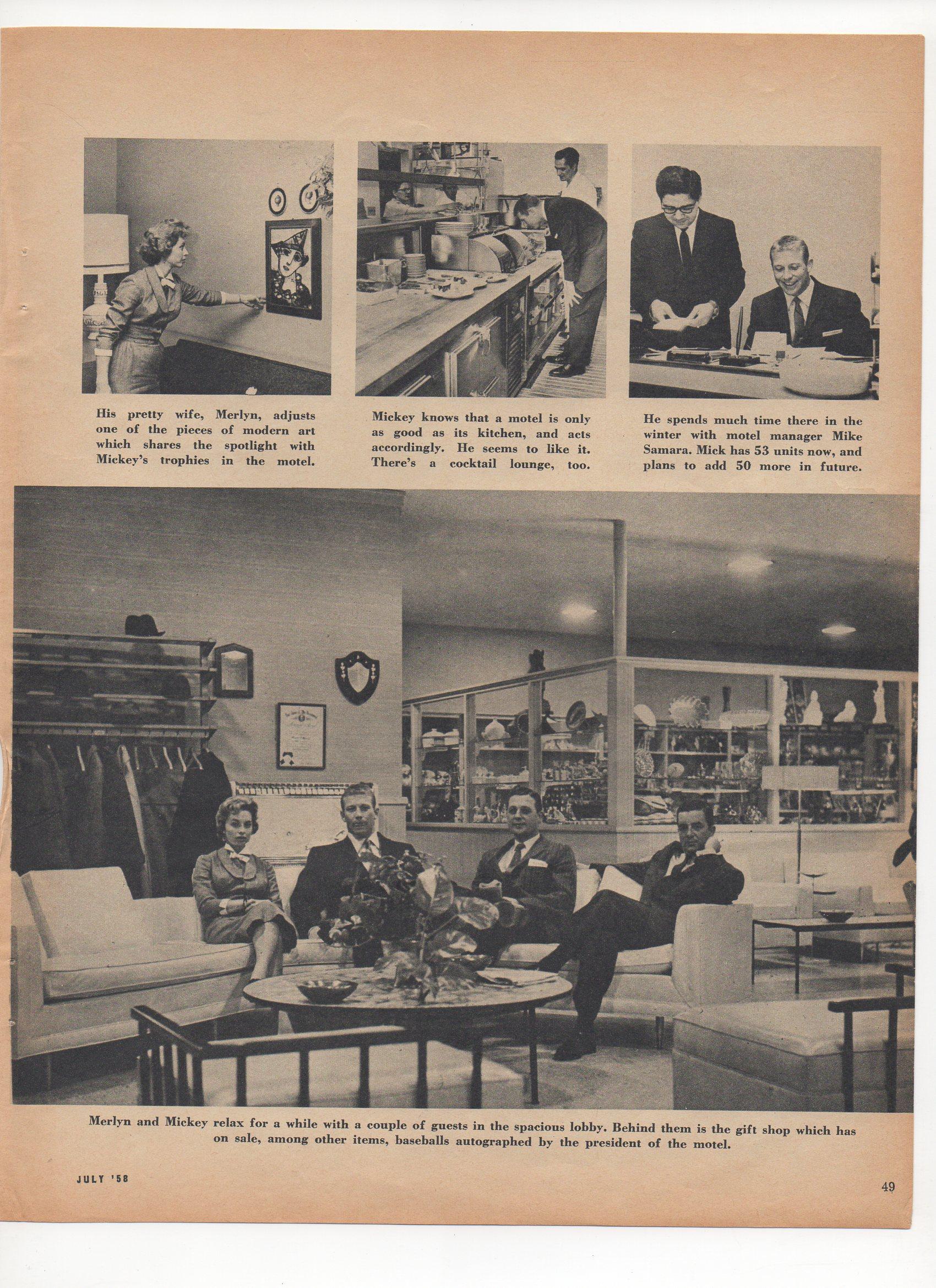 1958 sport magazine, july
