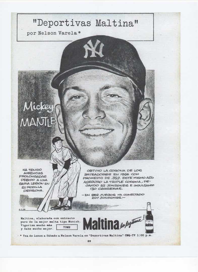 1958 unknown cuban magazine, march