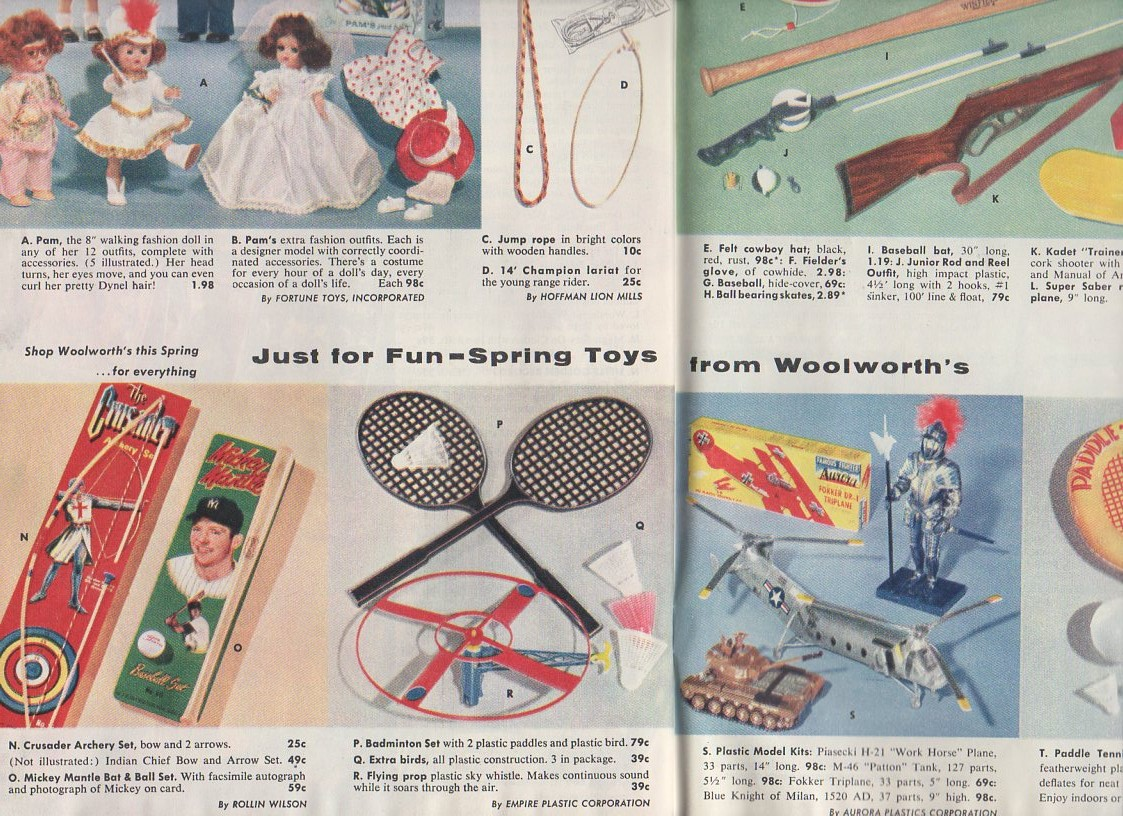 1957 Woolworths spring catalog