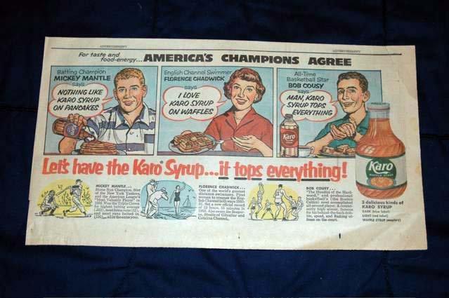 1956 karo syrup