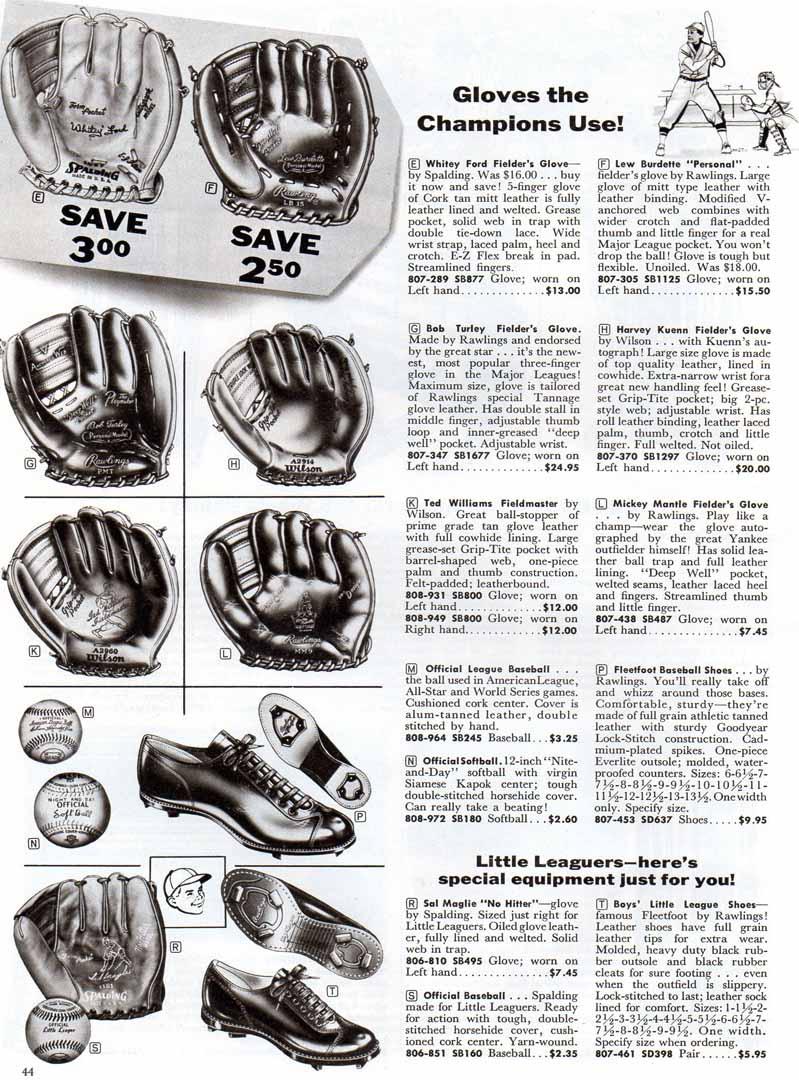 1959 bennett brothers spring/summer supplement