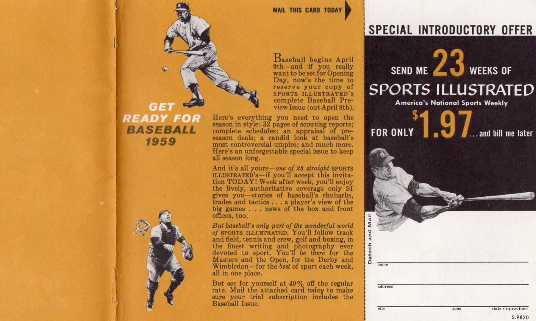1958 sports illustrated