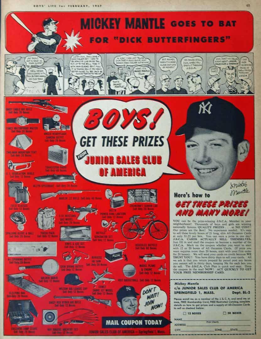 1957 boys life February