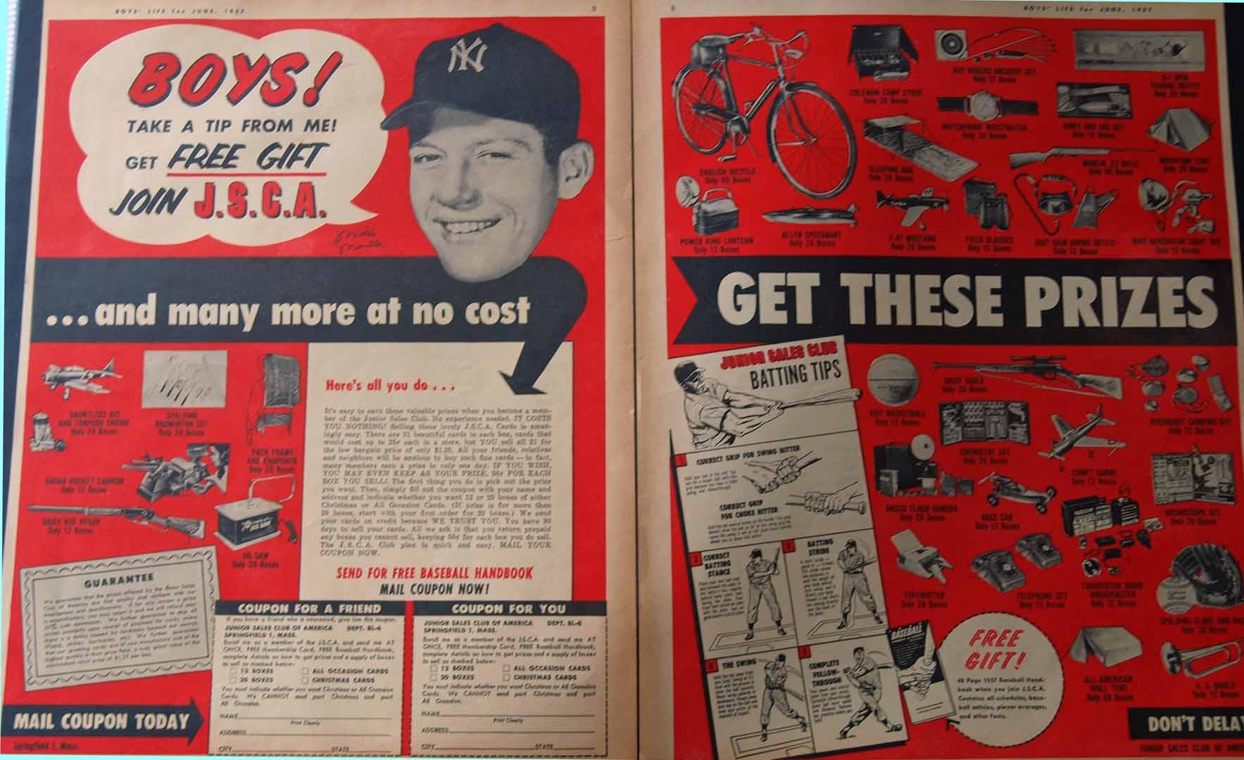 1957 boys life june