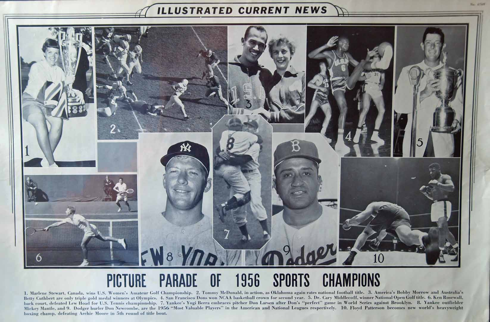 1956 illustrated current news