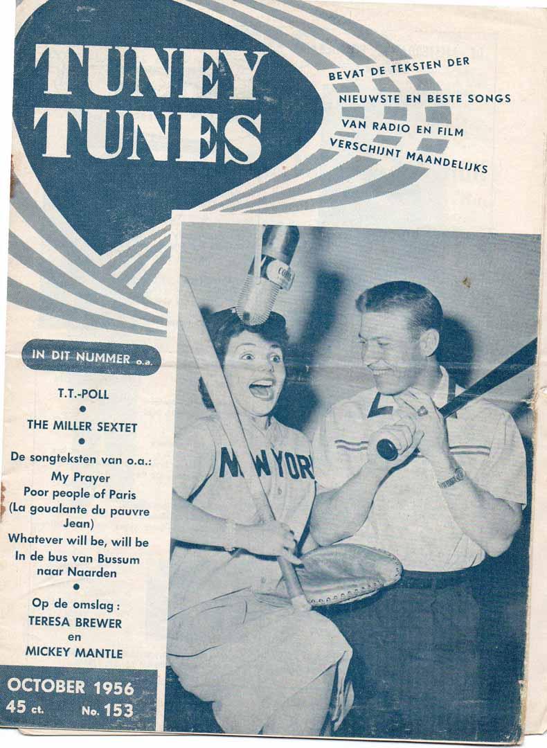 1956 Tuney Tunes netherlands edition October