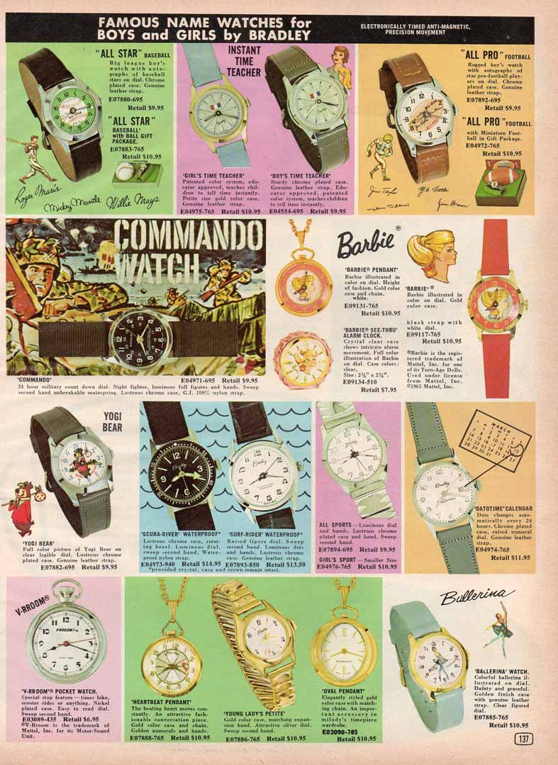 1960s era unknown catalog