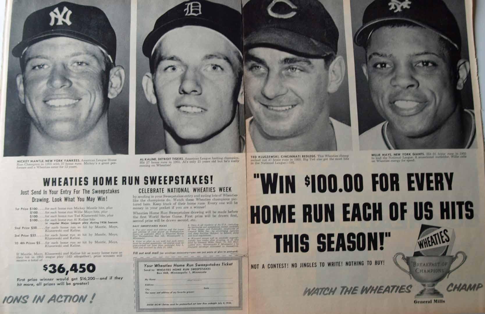 1956 unknown magazine