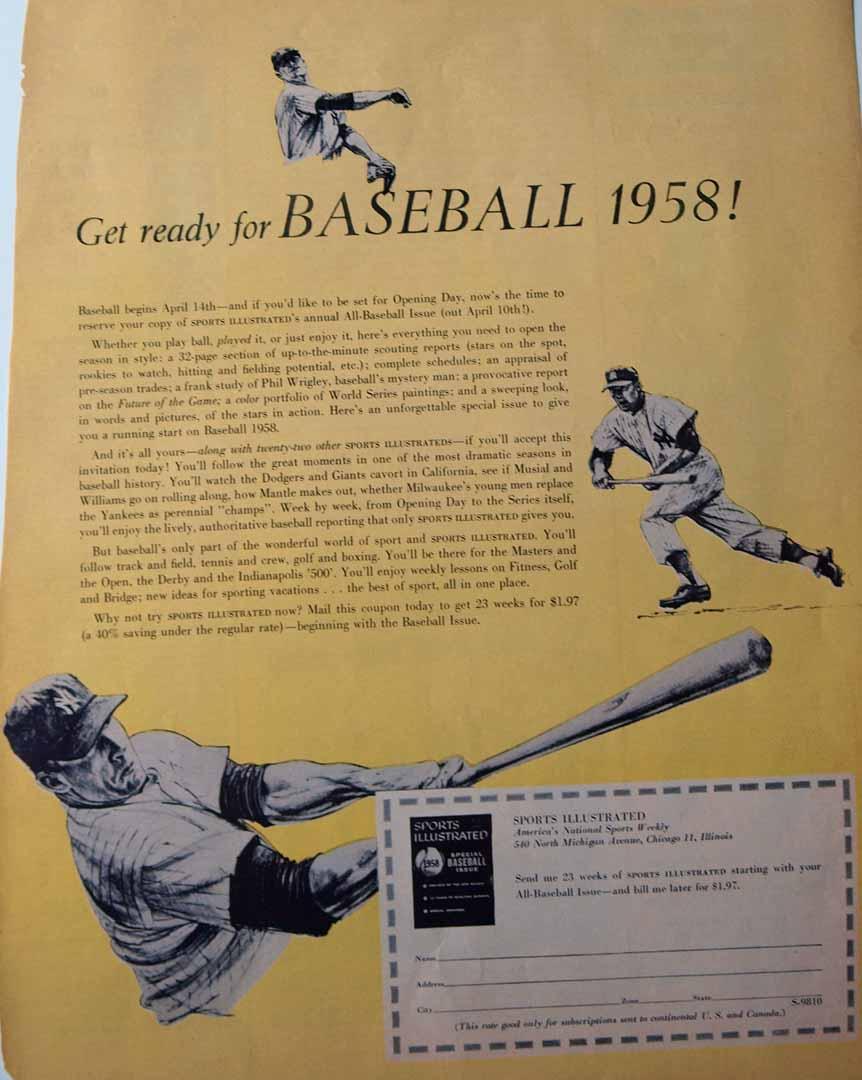 1958 unknown magazine