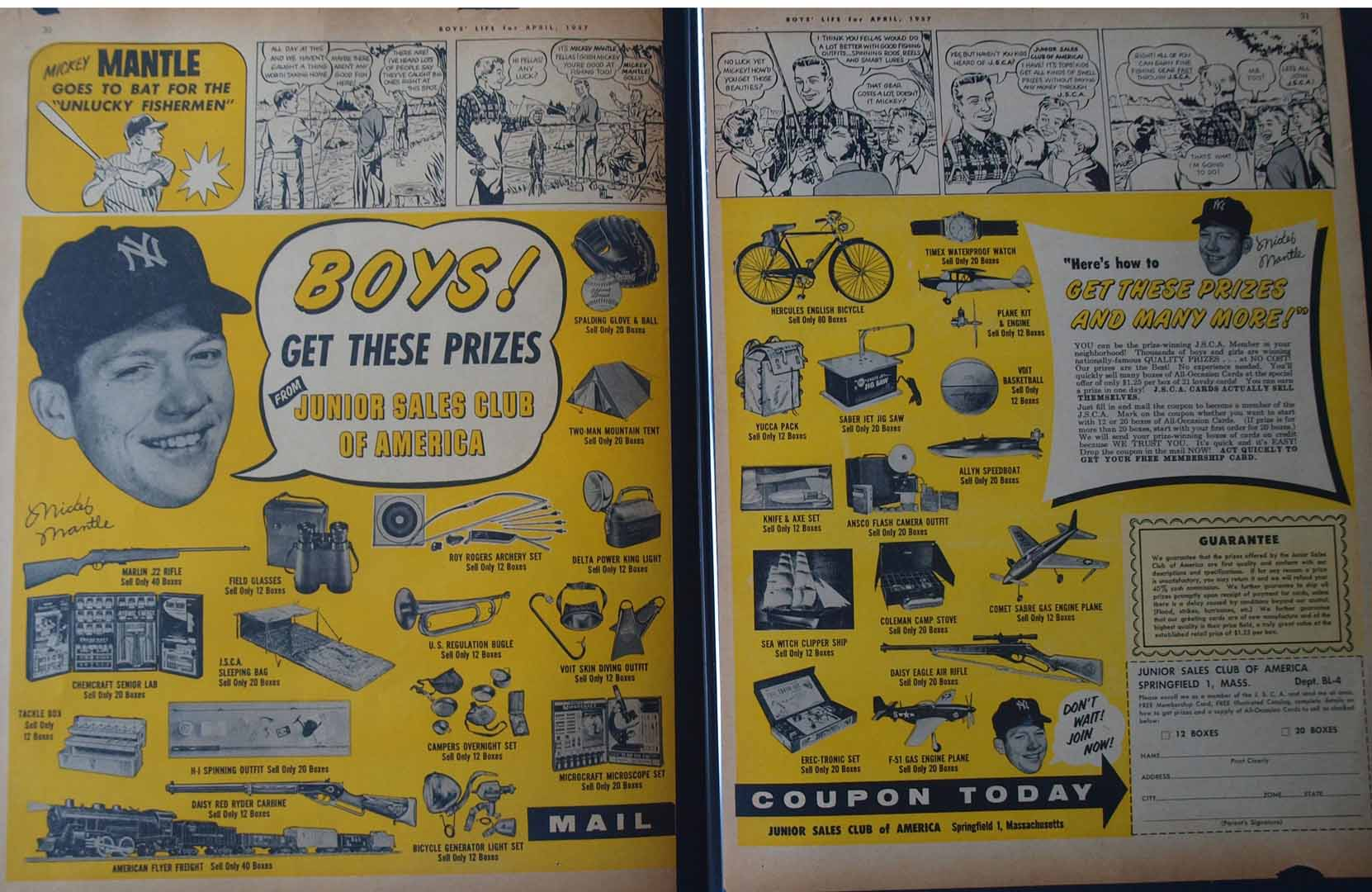 1957 boys life april