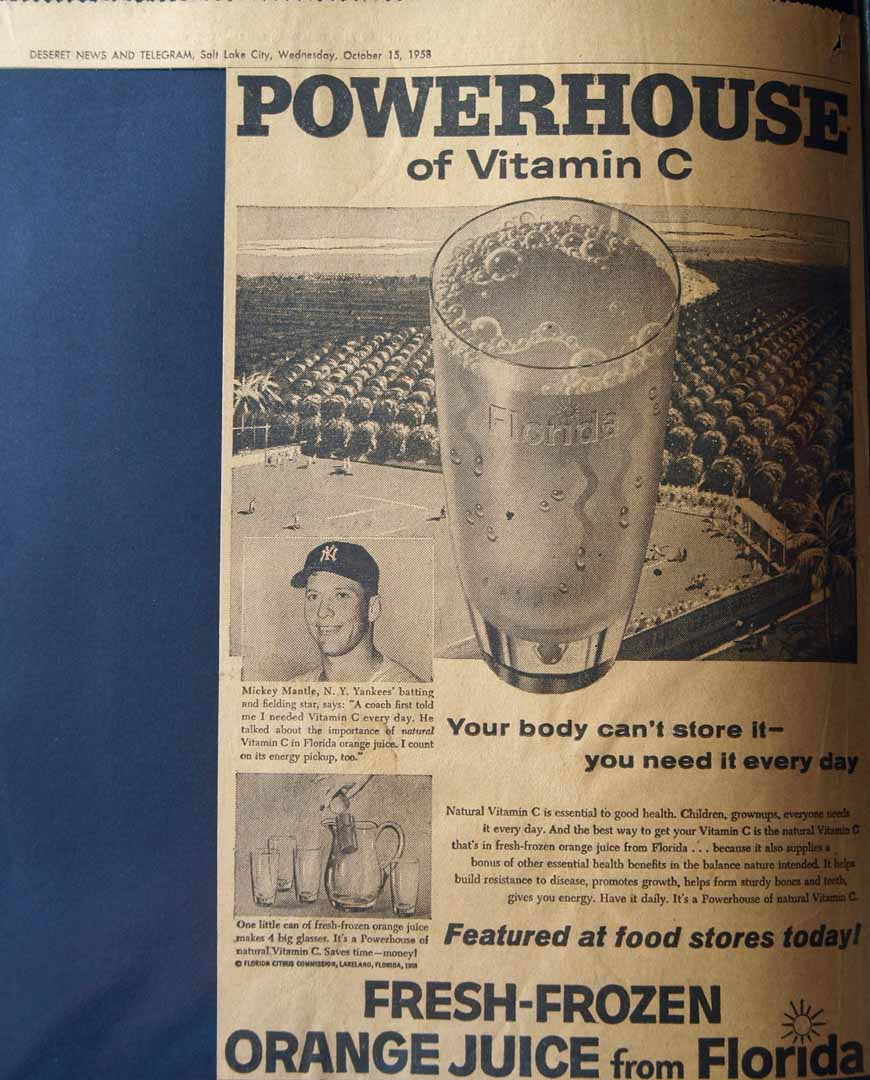 1958 deseret news telegram salt lake utah 10/15