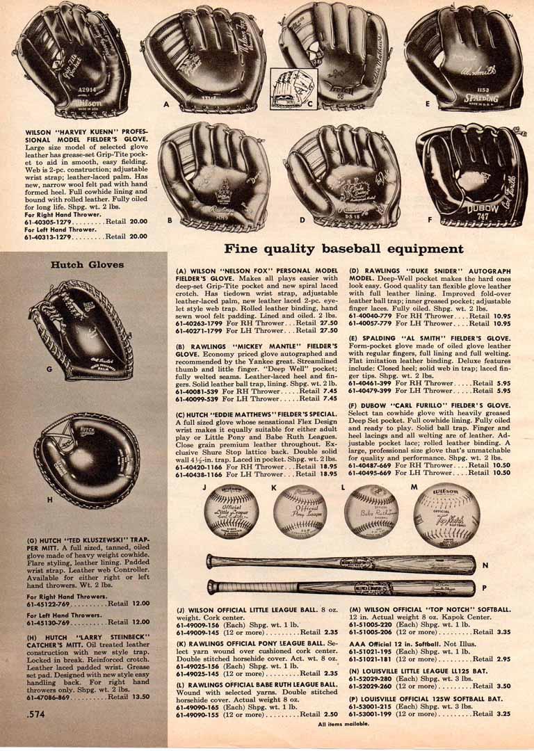 1957 continental catalog